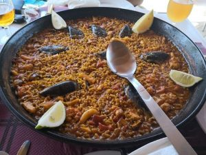 Paella – typical Spanish meal
