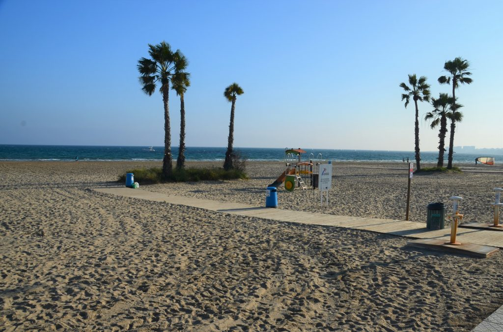 Pláž Los Naufragos, Torrevieja